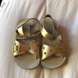 Saltwater Gold Sandals
